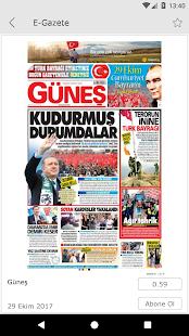 Güneş E-Gazete - náhled