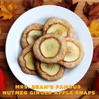 Kari's Version of Mrs. Bean's Famous Nutmeg Ginger Apple Snaps