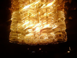 Photo: Inside, the chandeliers look like inverted ashtrays. That's late Sixties style for you.