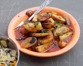 Photo: Ziemniaki smażone z sosem (32)