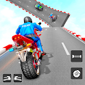 Police Bike Stunt Games icon
