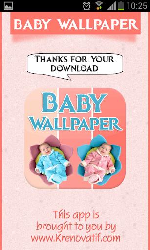 Baby Wallpaper HD Theme Free