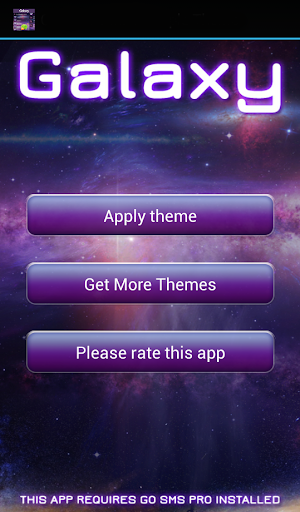 GO短信加强版粉红银河