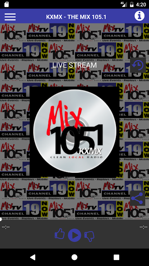 KXMX-The MIX 105.1/MixTV Ch 19- screenshot