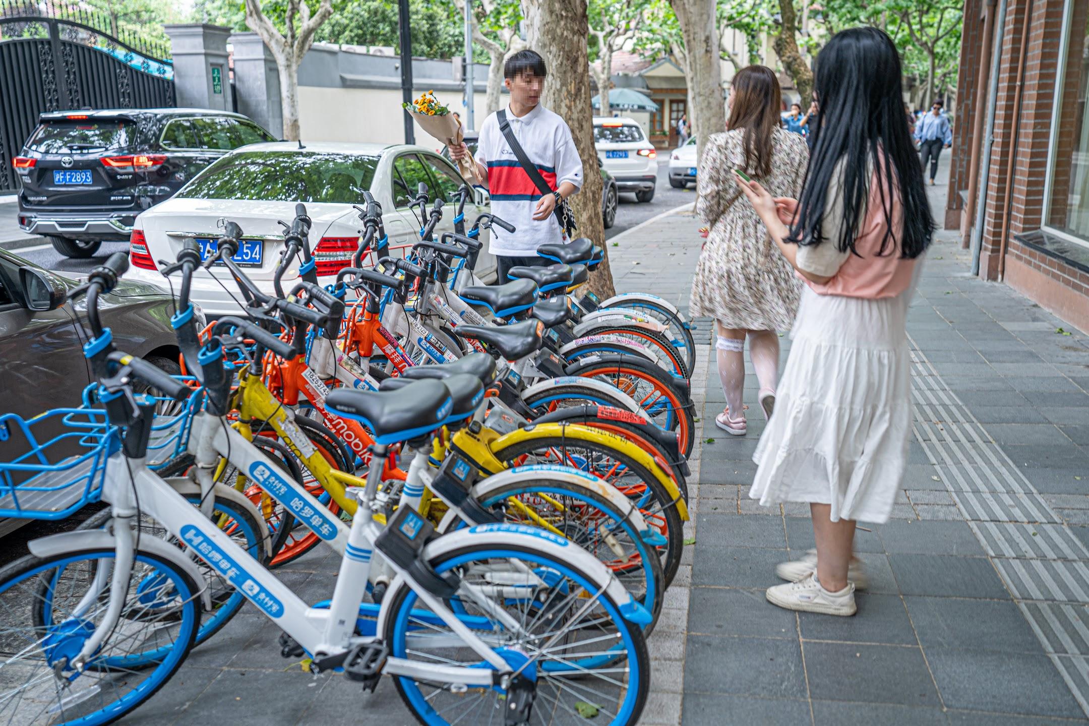 上海 レンタルバイク