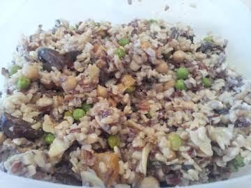 Fantastic summer brown rice salad