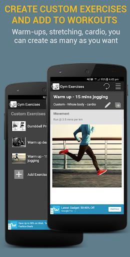 Gym Exercises 2.1 screenshots 5
