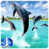 3D Dolphin Live Wallpapers