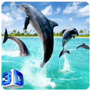 Free Live Wallpaper of Dolphins