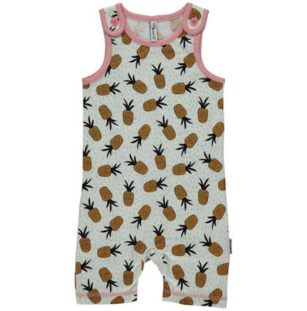 Maxomorra Playsuit Short pineapple spots