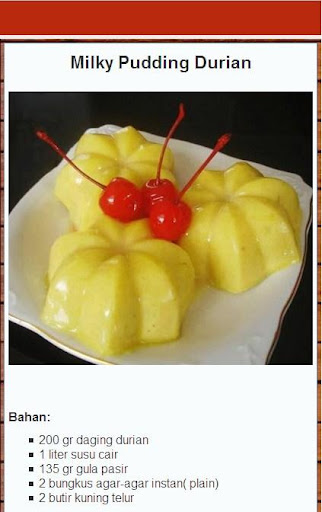 The Best Pudding Recipe for PC