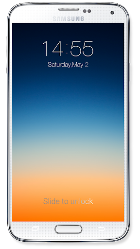 OS8 Lock Screen 4.7 screenshots 1