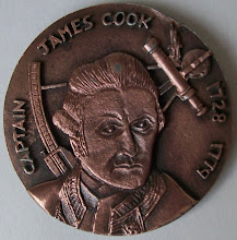 Photo: Medallion we received - front