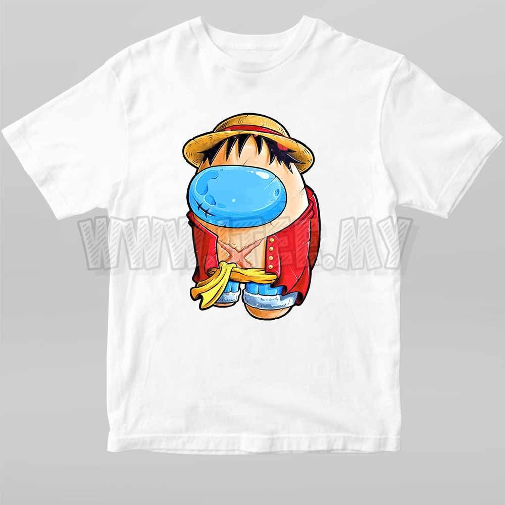 Monkey D. Luffy Straw Hat  One Piece Among Us Impostor 16