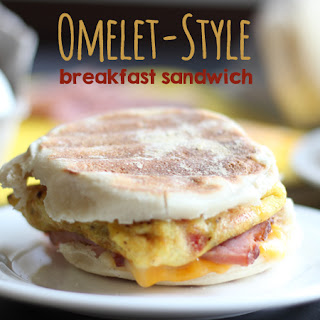 Omelet-Style Breakfast Sandwiches