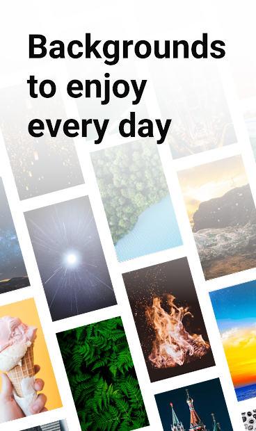 Backgrounds HD (Wallpapers) Android App Screenshot