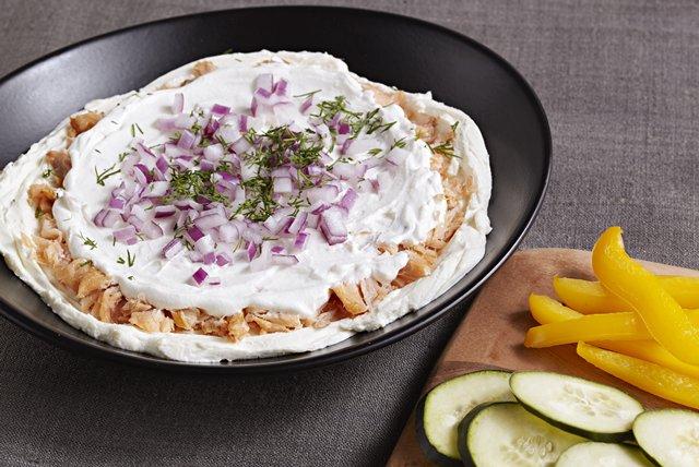 PHILADELPHIA Smoked Salmon and Cream Cheese Dip Recipe