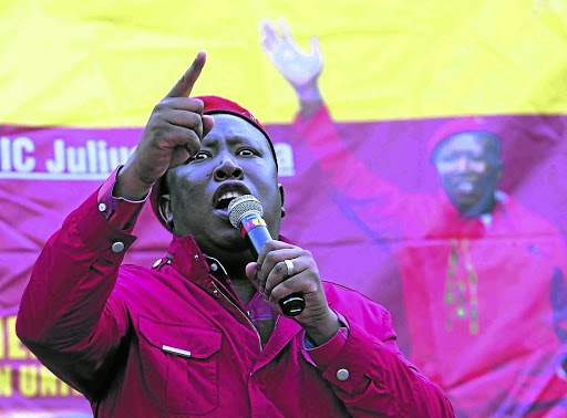 Julius Malema and the EFF have been at the forefront on the issue of land in SA.