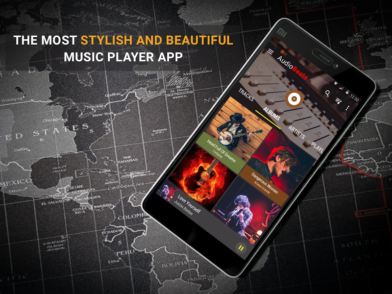 Audio Beats - Mp3 Music Player, Free Music Player Screenshot 7