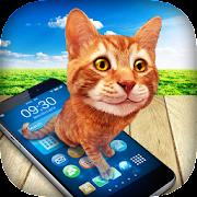 Cat in Phone Prank