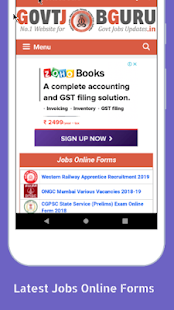 Govt Job Guru - Apps on Google Play