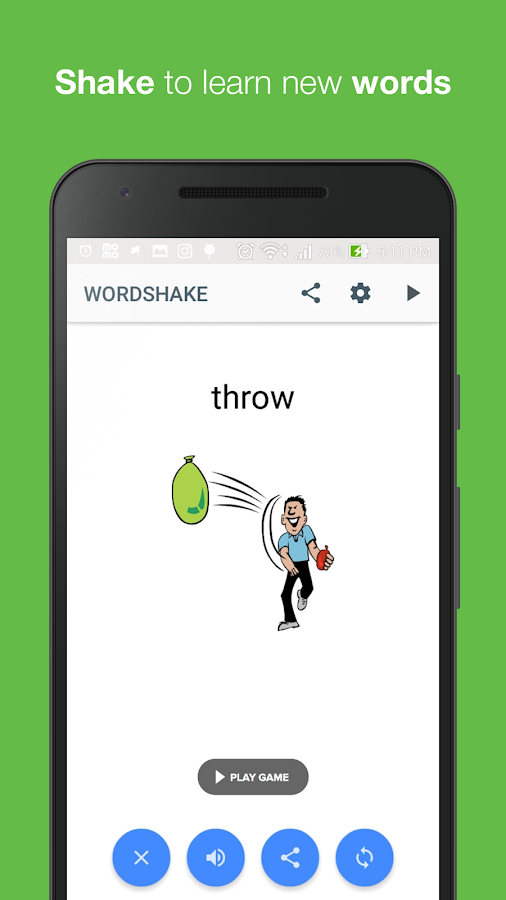 WordShake-Play And Learn Words- screenshot