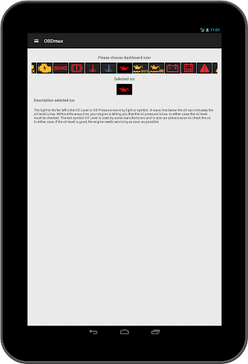 OBD2 scanner & fault codes description: OBDmax  screenshots 9