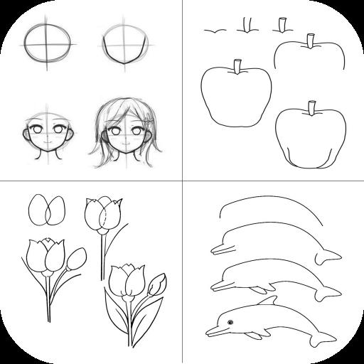 download diy easy drawing tutorial google play softwares
