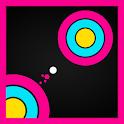 Super Circle Jump★Reflex Game