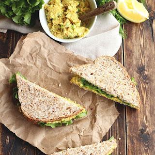 "Classic Chickpea ""Egg"" Salad Sandwiches"