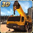 Construction Excavator Sim 3D