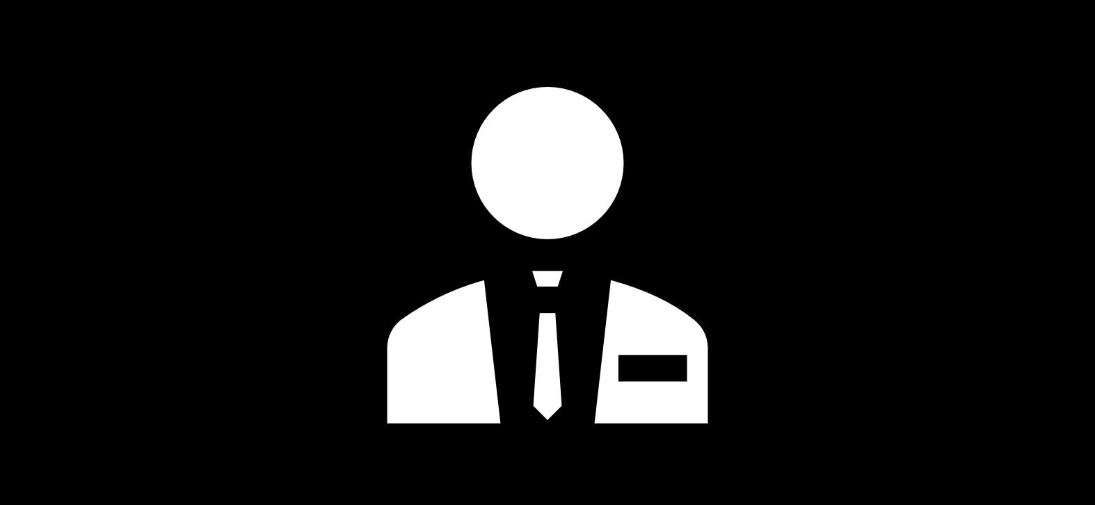 Illustration Mann mit Anzug