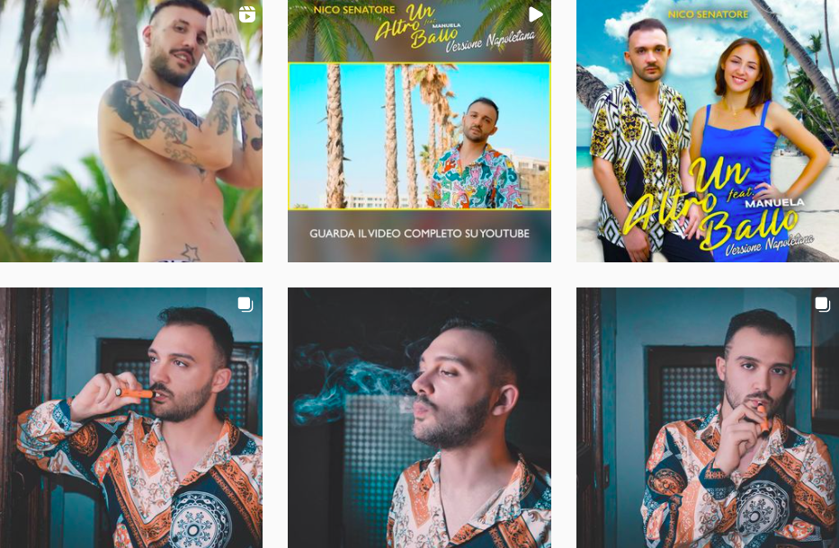 Nico Senatore | Music and Fashion | Italian Influencers