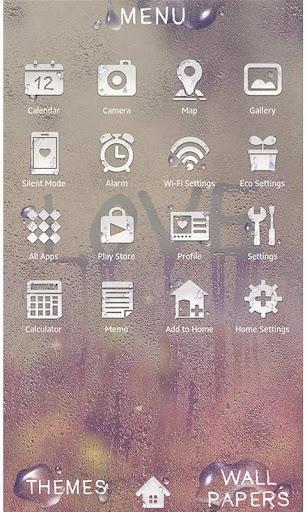 玩免費個人化APP|下載★免費換裝★寫在朦胧玻璃上的LOVE app不用錢|硬是要APP