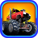 Monster Car Stunts Racing icon