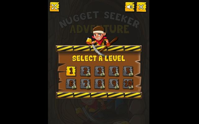 Nugget Seaker Adventure