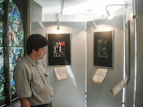 "Photo: St. Petersburg, Art Center ""Perinnye Ryady"", Chagall-utstelling, den 19. juli 2011"
