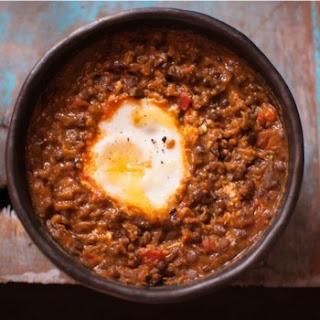 Egg-Lentil Curry