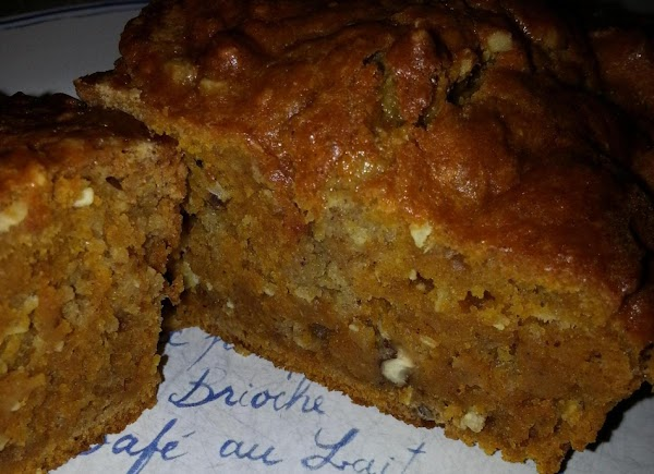 Perky Pumpkin Bread-connie's Recipe
