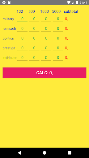 GOSCalc - Game Of Sultans Calculator android2mod screenshots 3