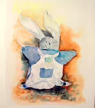 Photo: Lapin carotte...sans sa carotte !