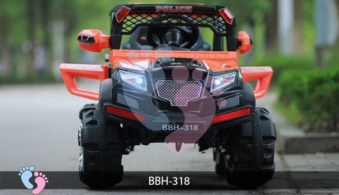 Ô tô điện trẻ em BBH-318 kiểu Police 7