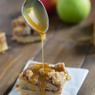 Caramel Apple Pie Bars