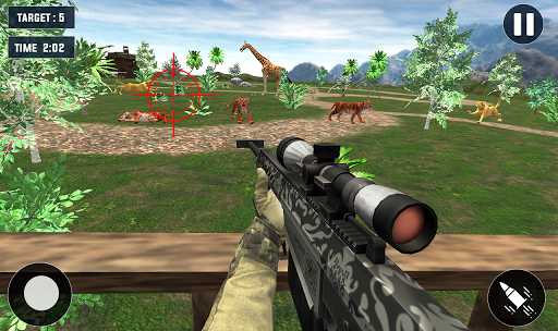Code Triche Tiger Hunting game: Zoo Animal Shooting 3D 2020 APK MOD (Astuce) screenshots 6