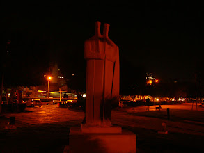 Photo: Statue in the Limassol seaside