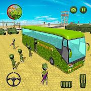 Army Stickman Soldiers Transport