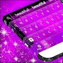 Hearts Purple Keyboard GO icon