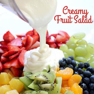 Creamy Fruit Salad Recipe
