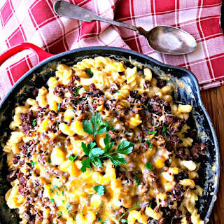 BBQ Beef Mac and Cheese #SundaySupper #CertifiedAngusBeef.