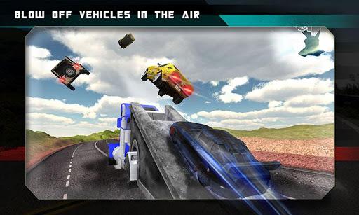 公路碎路卡车3D